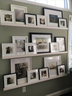 Home Interior Living Room .Home Interior Living Room Home Living Room, Living Room Decor, Family Room Walls, Picture Shelves, Picture Ledge, Frames On Wall, Home Decor Accessories, Cheap Home Decor, Home Decor Inspiration