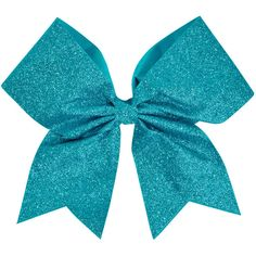 Chassé Glitter Performance Hair Bow ($4.95) ❤ liked on Polyvore featuring accessories and bow