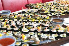 Rastland Open Air 2014 - Sushi - VIP Buffet Vip, Sushi, Buffet, Catering Display, Lunch Buffet, Sushi Rolls