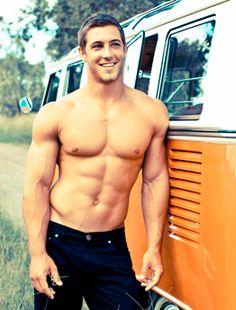 Mmm... #hot #guy #torso #sixpack #abs #sexy #lovehandles #beautiful #man #guy #dude #shirtless #hunk #hottie #biceps