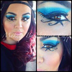 Cleopatra makeup ❤️