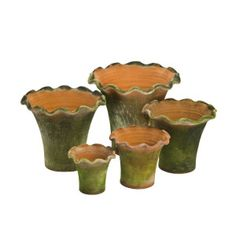 Aged Scallop Planter 1