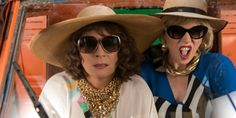 "Ab Fab The Movie ‏@AbFabMovie  May 7 ""We're in the South of France… Everyone's a criminal!""  Tweet us your favourite line from the #AbFabMovie trailer!"
