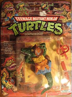 Leatherhead-Teenage Mutant Ninja Turtles old school toy