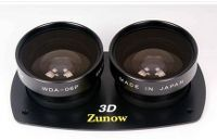 WIDE ANGLE LENS FOR THE PANASONIC AG-3DA1 3D  The Zunow WDA-06P kit lens for the Panasonic AG-3DA1 3D Camcorder will give you a 30% wider angle of view. Thanks to this lens you can bring your working distance back up to 45 cm, and still have an amazing 3D picture.