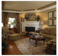 Diy Home Decor Living Room, Cozy Living Rooms, Formal Living Rooms, My Living Room, Living Room Designs, Decor Room, Small Living, Modern Living, Wall Decor