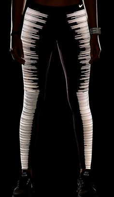glow in the dark leggings from Nike!