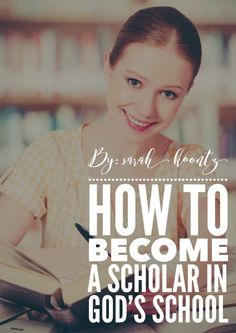 Is it really possible for people like you and me to become scholars in God's…
