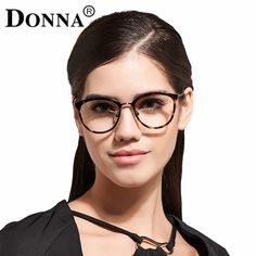 9bfb53745245 Donna Eyeglasses Frames Men Women Glasses Full Frame Cat Eye Cateye Band  Retro Reading Glass Clear Lens Ultra Light Frames