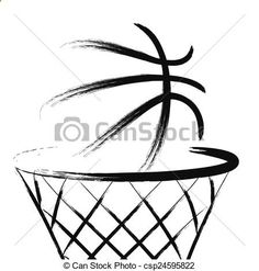 Scoring Basketball Academy - Vector - Basketball - stock illustration, royalty free illustrations, stock clip art icon, stock clipart icons, logo, line art, EPS picture, pictures, graphic, graphics, drawing, drawings, vector image, artwork, EPS vector art - TSA Is a Complete Ball Handling, Shooting, And Finishing System!  Here's What's Included...