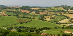 Offagna, Marche, Italy - Seen from the Castle - stitch by Gianni Del Bufalo CC BY-NC-SA IMG_8305-08 stitch -Countryside