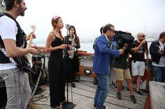 Agosto na Ría Marqués de Vizhoja, concierto de The Soul Breakers #festival #riadevigo #españadirecto #TVE