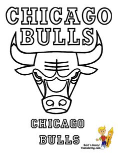 chicago bulls coloring page art coloring pages activities