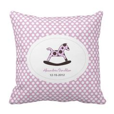 Personalized Newborn Pillow