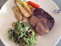 Saus til stek Steak, Food, Essen, Yemek, Steaks, Meals