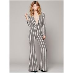 white bell bottom jumpsuit - Google Search
