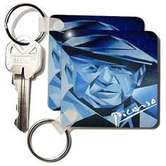 Taiche Acrylic Art - Picasso The Blue Period - Key Chains - set of 2 Key Chains - kc_18267_1 3dRose http://www.amazon.com/dp/B015PM93BO/ref=cm_sw_r_pi_dp_D6xbwb05QG353