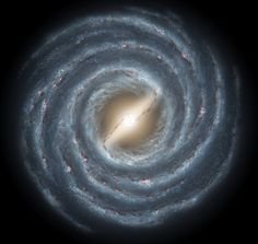 Impact: Earth won't be destroyed when the Andromeda smashes into the Milky Way (pictured), but stars will likely be tossed into different orbits and it will take an additional two billion years for the two galaxies to totally merge