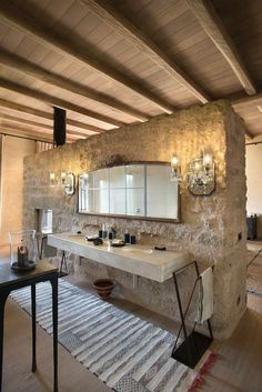 Places - Arijiju, A Safari Lodge in Kenya :: This Is Glamorous Solar Thermal Panels, Lodge Bathroom, Home Modern, Timber Door, Dark Interiors, Rustic Interiors, Beautiful Interiors, Treatment Rooms, Maine House