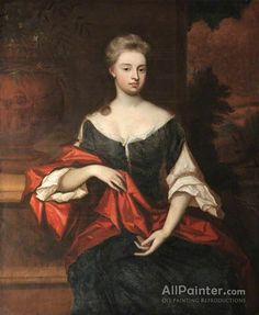 Sir Godfrey Kneller, Bt. Dorothy Whitmore oil painting reproductions for sale