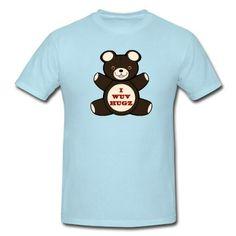 i wuv hugs T-Shirt   Spreadshirt   ID: 10883394 added to the Xmas list