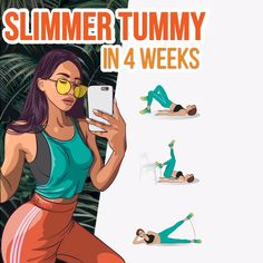 Get Slimmer Belly in 4 Weeks at Home Super easy way to lose belly fat is the workout below! Effective exercises help you to reduce the size and lift the belly in a month! Prepare your body quick and easy to summer! Try and enjoy the results! Six Pack Abs Workout, Abs Workout Routines, Workout Videos, Workout Plans, Fitness Workouts, Weight Loss Blogs, Losing Weight Tips, Lose Weight, Lose Fat