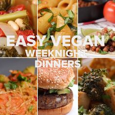 easy vegan weeknight dinners vegan recipes videos, tasty videos, whole food recipes, veggie Slaw Recipes, Healthy Recipes, Veggie Recipes, Whole Food Recipes, Diet Recipes, Vegetarian Recipes, Cooking Recipes, Diet Meals, Recipes Dinner