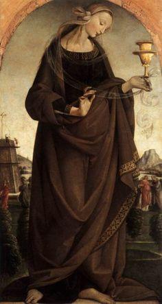 lyghtmylife:    MASTER of the Story of Griselda  [ItalianEarly RenaissancePainter, active ca.1500]  Artemisia1492Oil on panel, 88 x 46cmMuseo Poldi Pezzoli, Milan