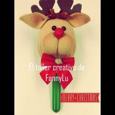 Maracas Navideñas Navidad Manualidades