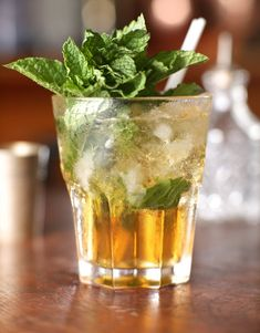 Click the link to read the complete Prescription Julep recipe. (Photo: Tony Cenicola/The New York Times)