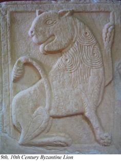 9th-10th Century Byzantine Lion
