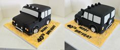 https://flic.kr/p/vUtnF1   Off-road car/Land Rover themed birthday car   Design was brought in by client.