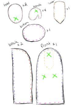 gaster plushie pattern | Tumblr