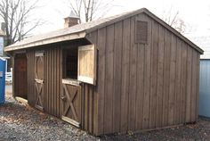 livestock shelters rustic - Google Search