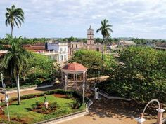 San Juan de los Remedios is a town and municipality located 3 miles km) from the northern coast of Cuba, in the center of the island. Timeline Photos, Cuba, Coast, Island, Mansions, House Styles, Decor, San Juan, Travel