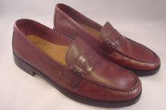 GH Bass Weejuns Penny Loafer Womens Size 9M Brown Style Katherine II #GHBass #LoafersMoccasins #Casual