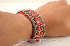 Paracord Bracelet Mens Bracelet Womens Bracelet by RuggedXessories