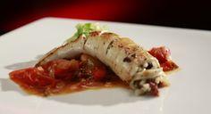 Thalia and Bianca's Mediterranean Stuffed Squid with Roasted Tomato Salsa: http://gustotv.com/recipes/lunch/mediterranean-stuffed-squid-roasted-tomato-salsa/