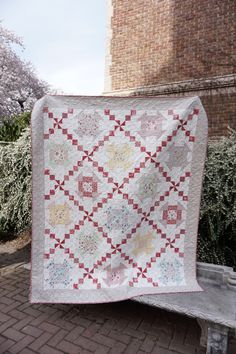 Tea on the Terrace - quilt tutorial from Quilting in the Rain