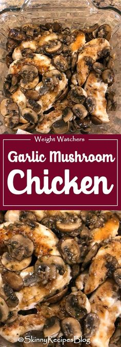 Extra Off Coupon So Cheap Chicken and Mushrooms in a Garlic White Wine Sauce is a great-tasting dish perfect for busy weeknights! We like it served with brown rice pasta quinoa or farro on the side or a serve it with roasted veggies and a salad. Ww Recipes, Turkey Recipes, Chicken Recipes, Dinner Recipes, Cooking Recipes, Healthy Recipes, Olive Recipes, Recipe Chicken, Garlic Chicken