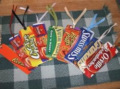 Too cool recycled bookmarks!