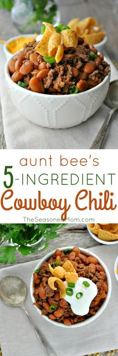 Aunt Bee's 5-Ingredient Cowboy Chili
