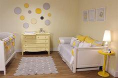 Ikea Baby Room, Baby Bedroom, Baby Boy Rooms, Baby Room Decor, Nursery Room, Girls Bedroom, Yellow Nursery, Baby Yellow, Baby Room Design