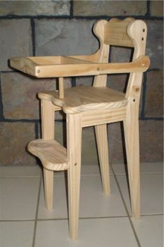 How To Build A Homemade High Chair Do It Yourself