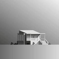"90 Likes, 1 Comments - Adrian Fernandez (@adrianomanchita) on Instagram: ""Blop blop . . . #house #sketch #shadows #architecture #graphic #minimal #minimalistic #gradient…"""