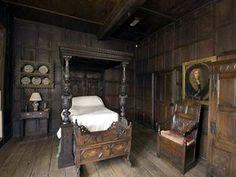 Medieval Bedroom Furniture - Home Design Ideas Medieval Bedroom, Gothic Bedroom, Medieval Furniture, Victorian Furniture, Discount Bedroom Furniture, Inglenook Fireplace, Gothic Home Decor, Tudor Decor, Gothic House