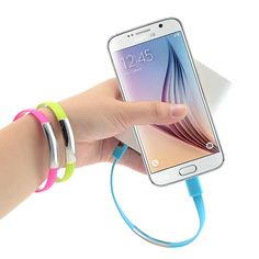 New Wrist Bracelet Charger Mobile Phone Cables Micro USB Data Cable Charging For Samsung Galaxy S4 S5 S6 A3 A7 Note 2 4 5 M9 M8 //     Price: US $1.28 & Free Shipping //     Casesaholic.com //     #cellphonecase   #lifestyle