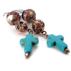 Day of the Dead earrings unique jewelry Dia de by OneEyeCatStudio, $25.00