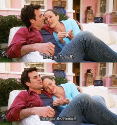 I finally found Razzles!!!! -- Jennifer Garner and Mark Ruffalo in 13 Going On 30