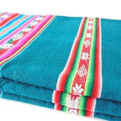 aguayo fabrics from the andean culture